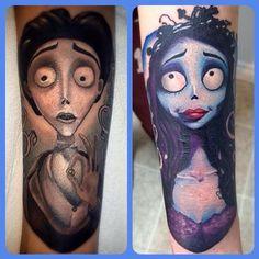 Jodie Wentz - Corpse Bride tattoo