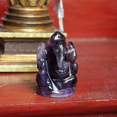 Baby Ganesha, Ganesh Statue, Getting To Know You, Amethyst Stone, Deities, Carving, Gemstones, Altar, Statues