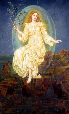 Evelyn De Morgan - Lux In Tenebris, 1895