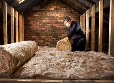 Attic insulation is a smart investment. It conserves energy by trapping heat in the winter, thereby saving your furnace from excess wear and tear.