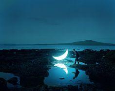 Portable Moon by Leonid Tishkov