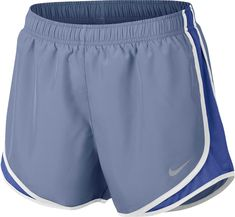 With its Dri-FIT polyester taffeta material body and modern look the Nike Varsity Blue Track Short For Women will be one of the top sellers in our Nike Womens Running Shorts Collection. Athletic Outfits, Athletic Wear, Athletic Shorts, Athletic Clothes, Nike Clothes, Nike Shorts Women, Nike Women, Gym Shorts Womens, Nike Tempo Shorts
