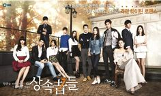 Heirs starring Lee Min Ho, Park Shin Hye, Kim Wo Bin, Choi Jin Hyuk, and so many other wonderful actors.