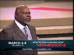 279 Best TD Jakes Ministries images in 2015 | Td jakes