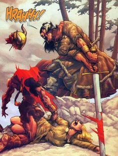 Conan slaying.