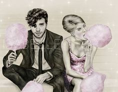 """Check out new work on my @Behance portfolio: """"CandyCotton""""…"""