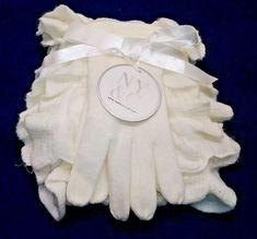 ad1e19d7347 New York   Company NY  C Ruffle Scarf and Gloves Gift Set Color  Ivory -
