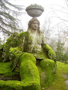 Italy's Garden of Monsters in Bomarzo. So want to see this!!!!