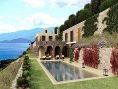 Elounda - 7-Schlafzimmer-Privatvilla, prestigeträchtige Lage, an Luxus-Resort angegliedert