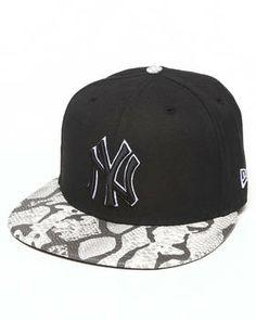 New York Yankees Snake-Thru Strapback Hat by New Era #snapback #style