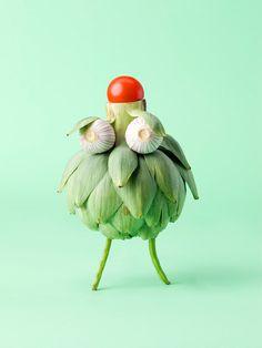 Cute & Crazy Vegetable Faces - My Modern Metropolis