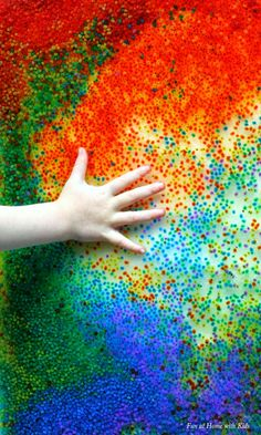 Homemade Mini Water Beads - a NEW natural, edible alternative to traditional water beads. These are so small that they do not pose a chokin...