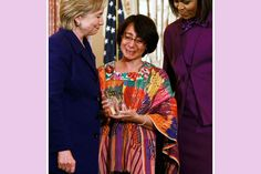 First Ladies Picture Gallery: Michelle Obama and Hillary Clinton Honor International Women of Courage