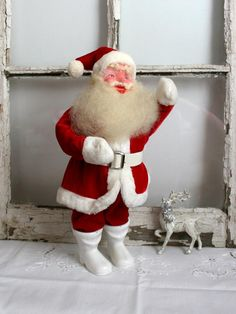 Vintage Santa Claus Harold Gale Christmas red by TheHeirloomShoppe, $95.00