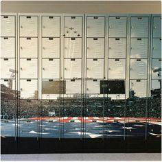 Daytona Beach vinyl wraps on lockers Jacksonville University, Custom Promotional Items, Legoland Florida, Large Format Printing, Scale Design, Direct Marketing, Daytona Beach, Vinyl Lettering, Exterior Design