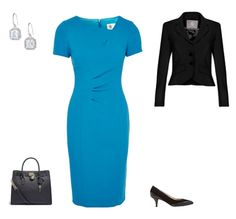 A capsule edit from the full capsule to show one of several Business Smart outfits