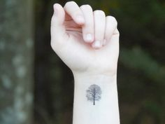 Temporary Tattoo  Tree Tattoo  Oak Tree by SymbolicImports on Etsy