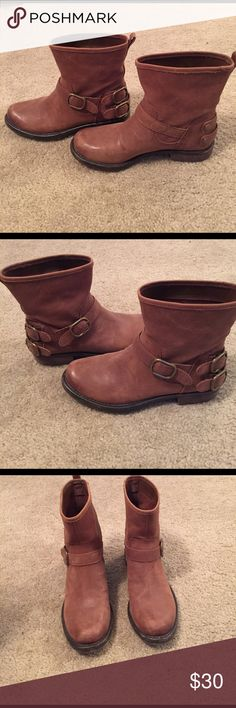Lucky brand boots! Worn a couple times- great condition! Size 7 Lucky Brand Shoes Ankle Boots & Booties