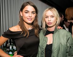 Bambi Northwood-Blyth (wearing CAMILLA AND MARC) and Alexandra Spencer (of 4th and Bleeker)