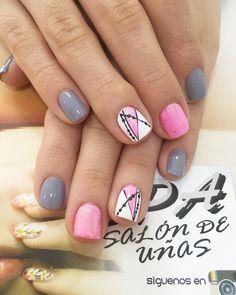 Toenail Art Designs, Cute Nail Art Designs, Pedicure Designs, Toe Nail Art, Toe Nails, Acrylic Nails, Perfect Nails, Gorgeous Nails, Rainbow Nails
