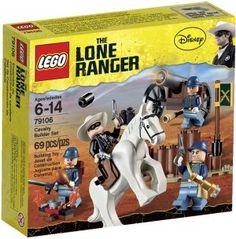 LEGO+Lone+Ranger+Cavalry+Builder+Set+79106