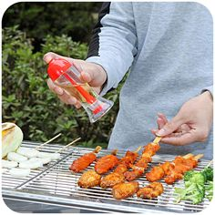 1 PC BBQ Oil pot Controllable amount Gravy Boats Cooking tools kitchen gadgets Home Dining bar Tableware accessories Supplies