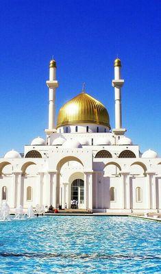 Nur Astaana Mosque,kazakhtan