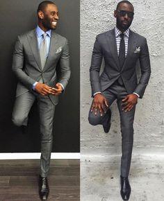 Davidson Frere grey suit