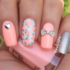 Trendy gel nail 2018 – best Instagram nail art