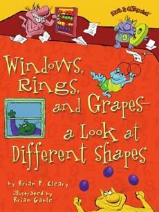 clever book on shapes for kids links to a great list of books about shapes