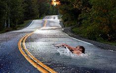 concrete swimmer