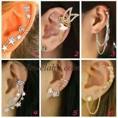 luv the cuff earings!