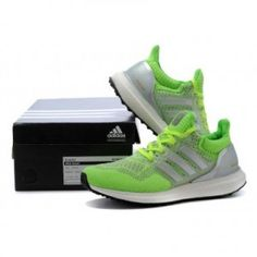 info for d6724 75715 Adidas Ultra Boost women Silver white Green Adidas Ultra Boost Men, Green  Tops, Green