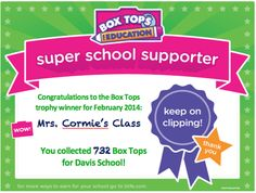 boxtops for education clip art - Google Search