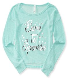It's pretty crystal clear that you're a shining star, but our Long Sleeve Born To Sparkle Hi-Lo Top is just extra proof!
