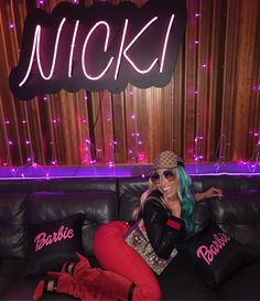 Nicki Minaj Gucci Jeweled Dragonfly Bomber Crystal Belt With Double G Buckle Original GG Canvas Baseball Hat Dionysus Embroidered Shoulder Bag Crystal Embellished Square Frames style Nicki Baby, Nicki Minja, Nicki Minaj Barbie, Harajuku, Nicki Minaj Pictures, Bae, Manicure Y Pedicure, Black Barbie, Lil Wayne