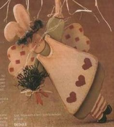Easter Bunny Angel, free crafting plans projects patterns