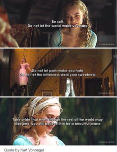 Best ideas for quotes disney cinderella movies Cinderella 2015, Disney Cinderella Movie, Cinderella Quotes, Cinderella Live Action, Citations Disney, Have Courage And Be Kind, Just Dream, Disney Quotes, Super Quotes
