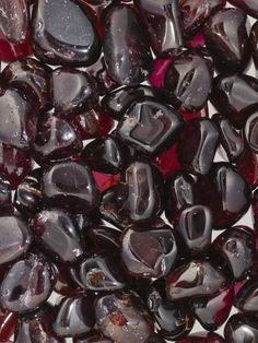 """Garnet are said for stimulating success in business. Put 3 or more garnets on your desk.  See more at """"Zen with Donna"""" fb page."""