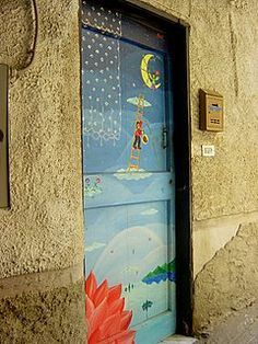Awesome life: The Village with the Painted Doors.... Valloria, Italy