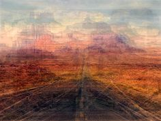Road to Monument Valley - The Collective Shot Project: Hundreds of pictures of the same place put together
