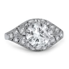 Platinum The Kalina Ring from Brilliant Earth