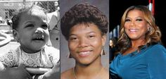 Queen Latifah Celebrities Then And Now, Young Celebrities, Celebs, Kiss Beauty, Black Actresses, Real Queens, Queen Latifah, Childhood Photos, Inspiring Women
