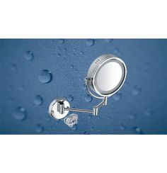 "Kich Bathroom Mirror with Bild Light 8.5"" In Glossy Finish"