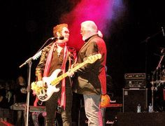 RIP Jon Lord... god bless. Jon and I in London together onstage... never forget. Love is everything...