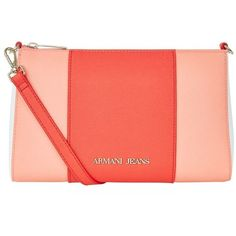 217bb5f96a0b Armani Jeans Saffiano Mini Cross Body Bag ( 145) ❤ liked on Polyvore  featuring bags
