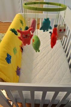 DIY crib mobile