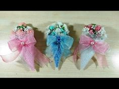 Cheap and Garish Wedding and Baby Present Making, Ucuz Nikah, Bebek Şekeri Yapımı - YouTube