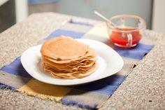 Make pancake mix pancakes and homemade wikihow to make pancakes via wikihow ccuart Gallery
