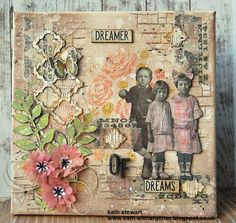 Kath's Blog......diary of the everyday life of a crafter: Simon Says...Handmade Flowers...